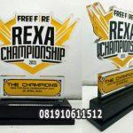 plakat akrilik championship